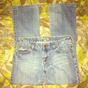 Express Flared Jeans